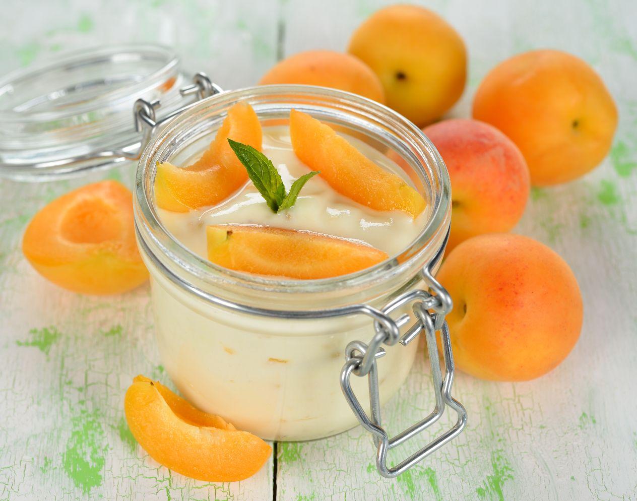 Meruňkový puding