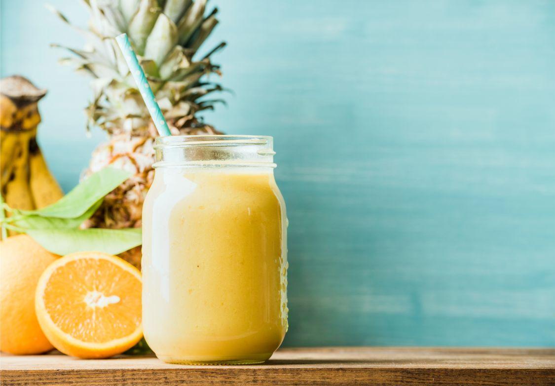 Nápoj ananas pomeranč