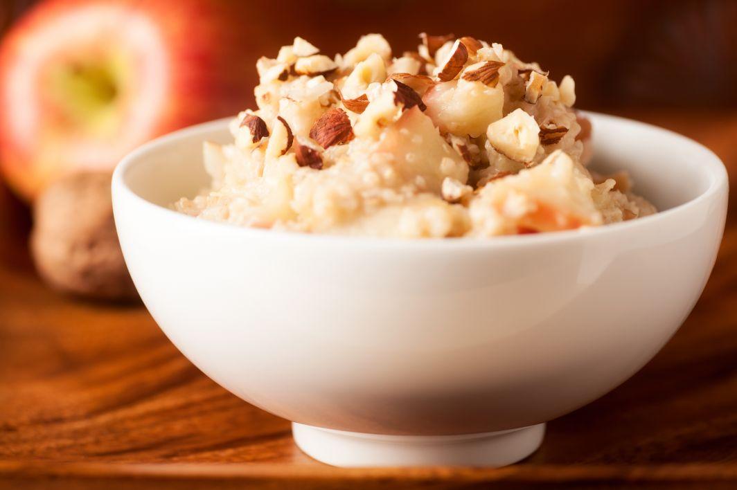 Proteinová kaše s ořechy