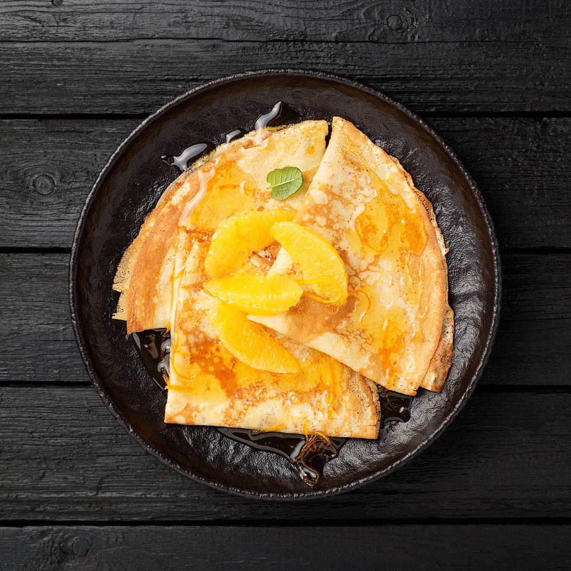 Pomerančová palačinka
