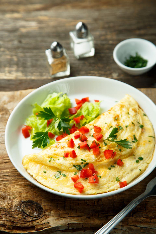 Bylinková omeleta