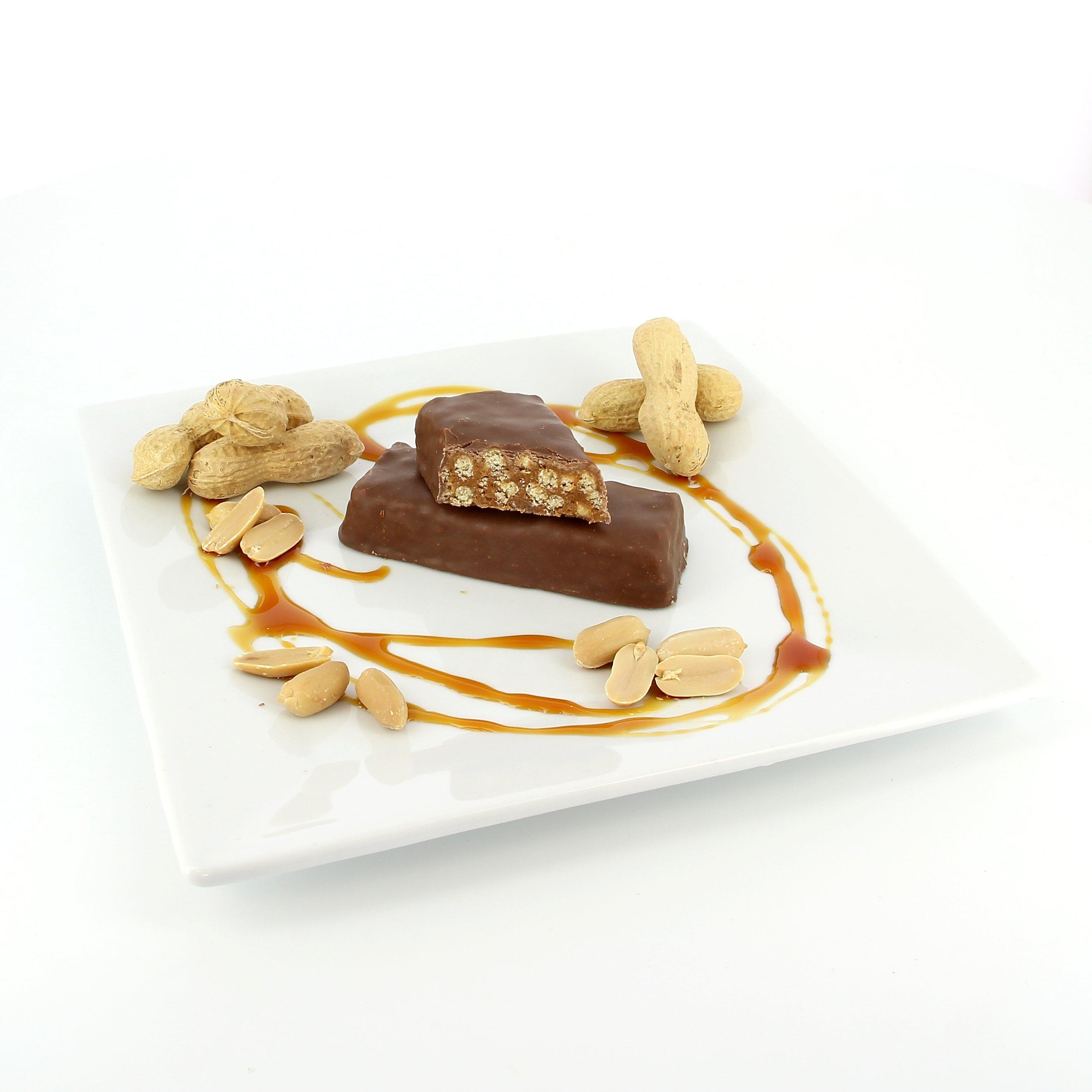 Karamelovo – arašídová tyčinka