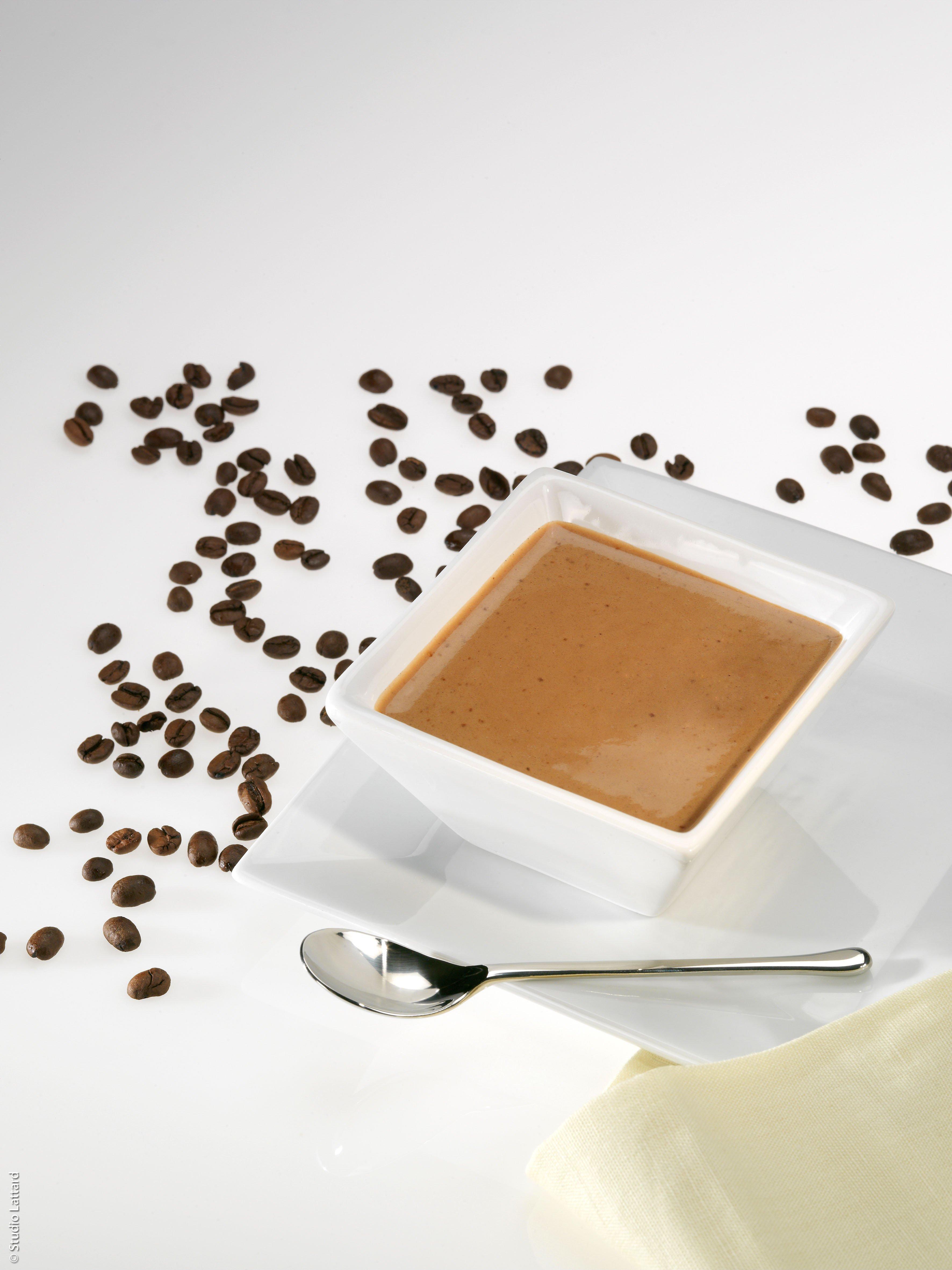 Kávový puding